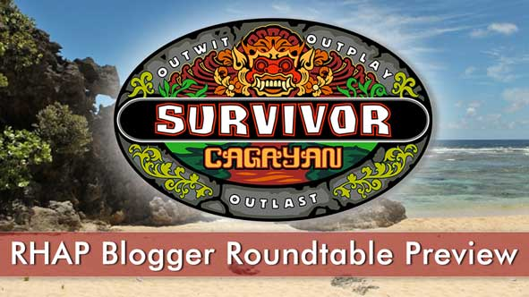 Previewing Survivor Cagayan with the bloggers from Rob Has a Website