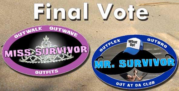 Vote for the winner of Miss & Mr. Survivor 2014