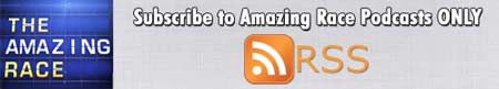 Click to Subscribe to The Amazing Race ONLY Podcast Feed on RSS