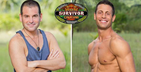 Rob Cesternino interviews the First 2 players voted out of Survivor Cagayan