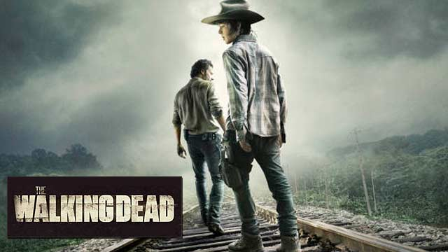 Carl and Rick are on the road again on The Walking Dead