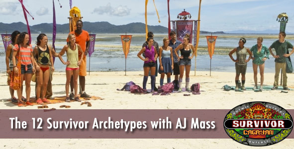 Discussing the 12 Archetypes of Survivor Cagayan with AJ Mass
