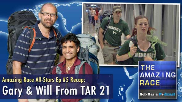 Amazing Race All-Stars Episode 5 Recap with Gary & Will from The Amazing Race 21
