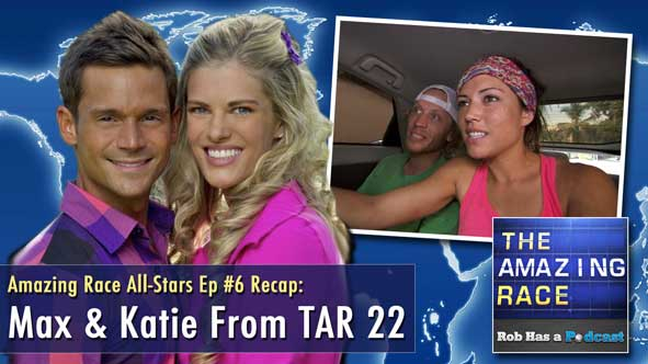 The Amazing Race All-Stars Episode 6 Recap: Max & Katie Interview