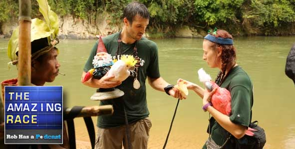 Click the image for Our Podcast recap of Amazing Race All-Stars Episode 3: Welcome to the Jungle