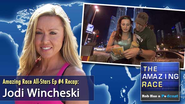 Amazing Race All-Stars Episode 4 Recap with Jodi Wincheski