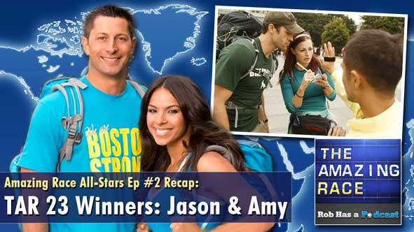 Amazing Race All-Stars Episode 2 Recap with Jason Case & Amy Diaz