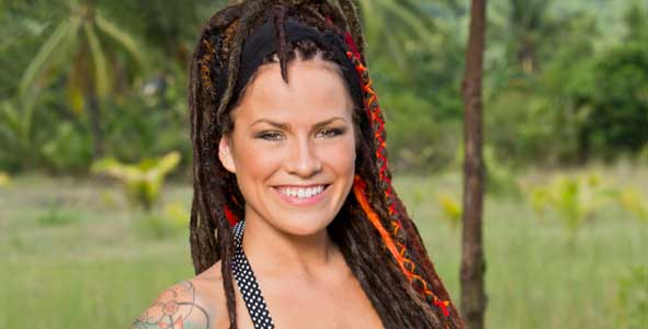 Talking with Lindsey Ogle who quit the game on Survivor Cagayan