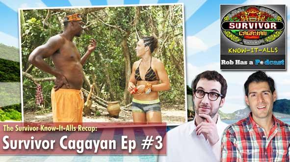 Rob Cesternino and Stephen Fishbach are LIVE to Recap Survivor Cagayan Episode 3