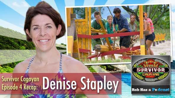 Denise Stapley returns to Rob Has a Podcast to discuss the turnaround for the Brains Tribe on Survivor Cagayan