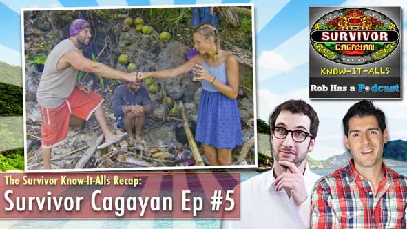 Rob Cesternino and Stephen Fishbach Recap Survivor Cagayan Episode 5 LIVE at 9:15 pm ET