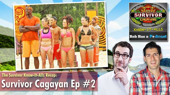 Survivor Know-It-Alls, Rob Cesternino and Stephen Fishbach recap Survivor Cagayan Episode 2: Cops R Us