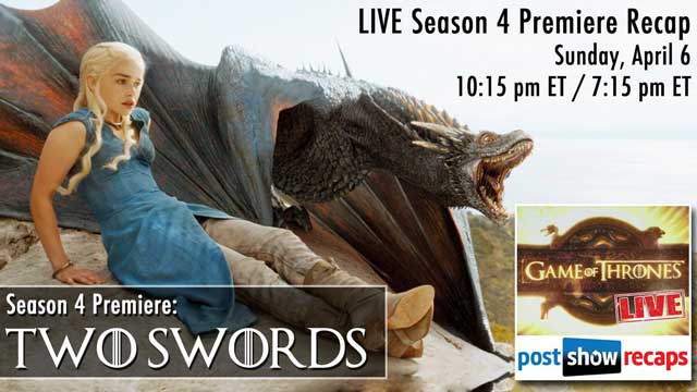 Game of Thrones LIVE after Each Episode at PostShowRecaps.com