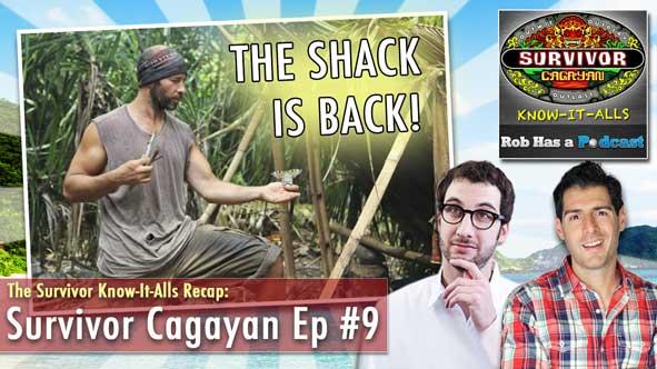 """Survivor 2014: The Know-It-Alls Recap Survivor Cagayan Episode 9, """"Sitting in my Spy Shack"""""""