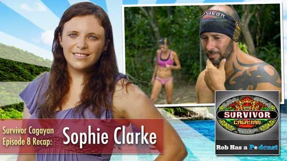 Survivor 2014: Interview with Sophie Clarke to Recap Survivor Cagayan Episode 8 on CBS