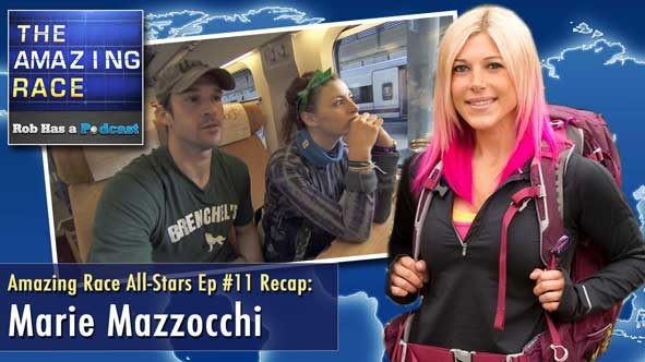 Amazing Race 2014: Episode 11 Recap with Marie Mazzocchi