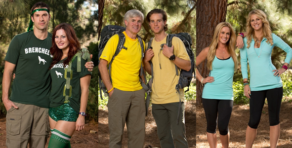 Amazing Race 2014: Exit Interviews with Dave and Connor, Brendon and Rachel and Jen and Caroline