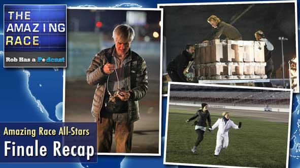 Amazing Race 2014: LIVE Recap of the Amazing Race All-Stars Finale