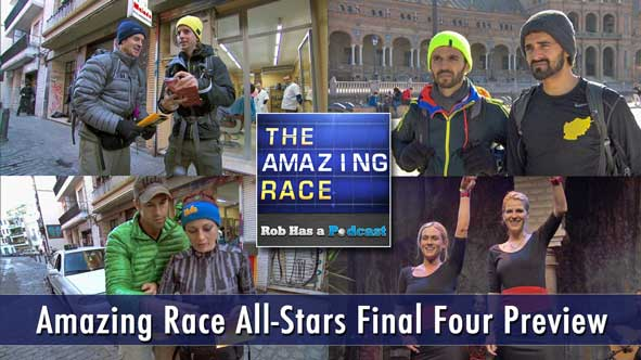Amazing Race 2014: Rob and Jessica Preview the Final Four teams of The Amazing Race All-Stars