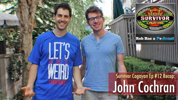 Survivor 2014: Rob Cesternino and John Cochran recap Survivor Cagayan Episode 12