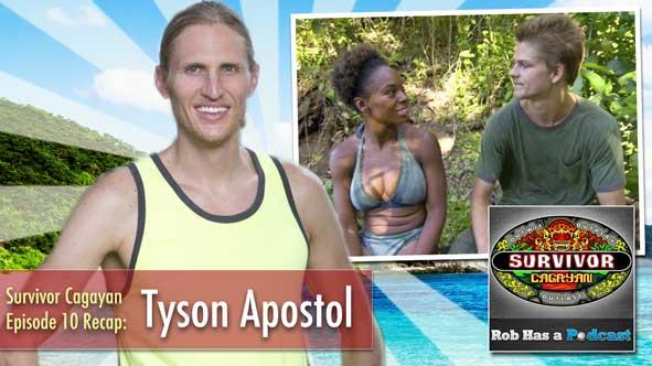 Survivor 2014: Rob Cesternino talks to Tyson Apostol about Episode 10 of Survivor Cagayan