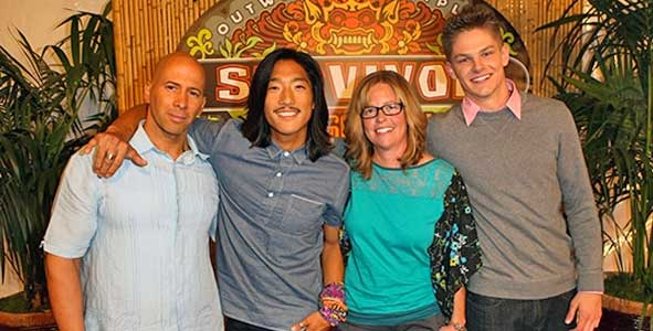 Survivor 2014: Exit Interviews with The Survivor Cagayan Final Four: Tony, Woo, Kass and Spencer