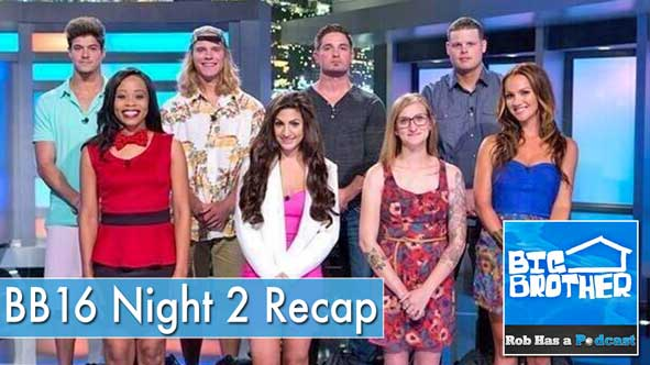 Big Brother 16 Recap: Night 2 of the BB16 Season Premiere on June 26, 2014