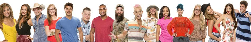 big brother 16 cast photo