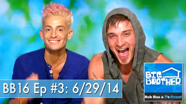 Big Brother 2014: Discussing the Nominations of BB16 First Hoh's Frankie and Caleb