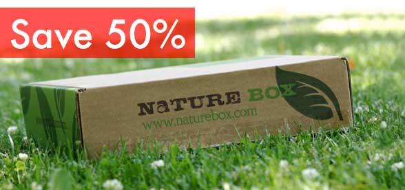 Save 50% on NatureBox when you order at Naturebox.com/RHAP