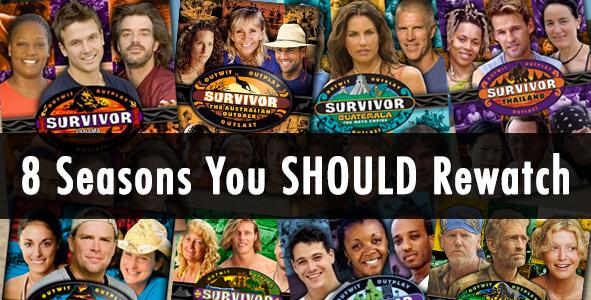 Mike Bloom's 8 Survivor Seasons worth a rewatch