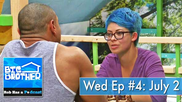 Big Brother 2014: Live Recap of BB16, Episode 4 on Wednesday, July 2nd