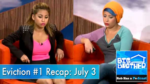 Big Brother 2014: Recap of the First BB16 Live Eviction on Thursday, July 3rd