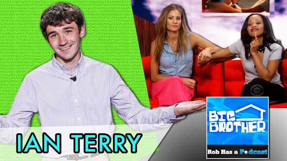 Big Brother 2014: LIVE with Ian Terry after BB16's Eviction of either Amber or Jocasta on July 31, 2014