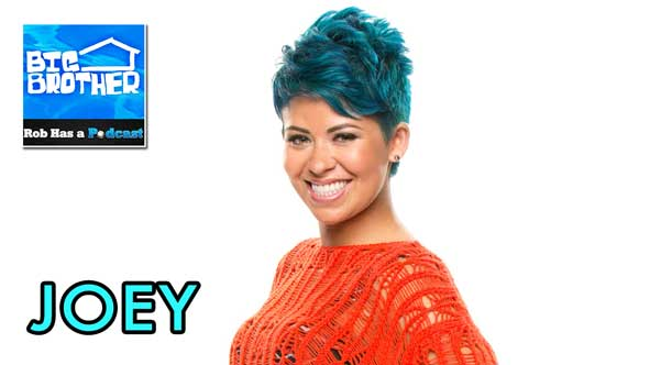 Big Brother 2014: Rob Cesternino Interview the first houseguest evicted from Big Brother 16, Joey Van Pelt