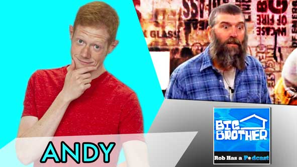 Big Brother 2014: Andy Herren Talks BB16 on Wednesday, July 23