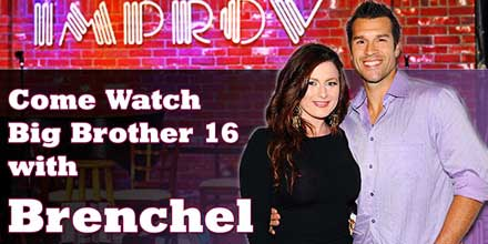 Click to More Information on our BB16 Viewing Party and LIVE podcast taping This Sunday (7/20) at the Hollywood Improv