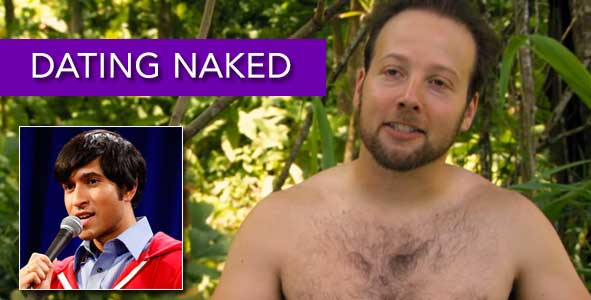 Talking with Dating Naked's Steven Brandon and a Comic Comeback Hopeful, Alingon Mitra