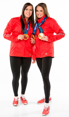 I hope they don't wear the medals on the Race. That would get annoying.
