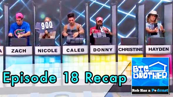 Big Brother 2014: BB16 Episode 18 Recap on August 3, 2014
