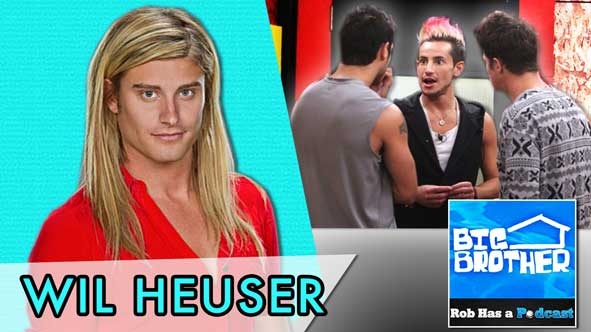 Big Brother 2014: Sunday Night BB16 Recap with Wil Heuser on August 10, 2014