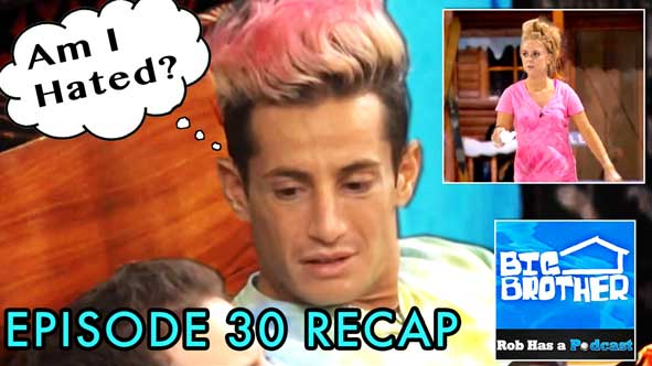 Big Brother 2014: BB16 Episode 30 Recap on Sunday, August 31