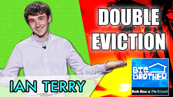 Big Brother 2014: Ian Terry on the Double Eviction Recap after Episode 20 of BB16 on Thursday, August 7th