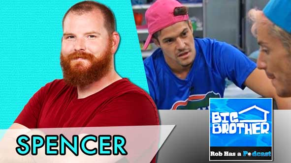 Big Brother 2014:  Spencer Clawson LIVE to Recap BB16 Episode 19 on August 6, 2014