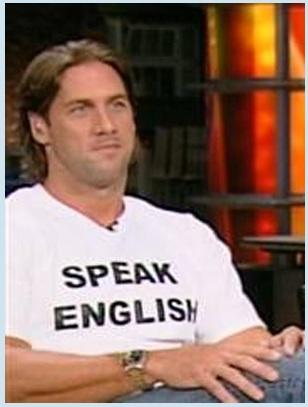 John Rocker wants you to Speak English