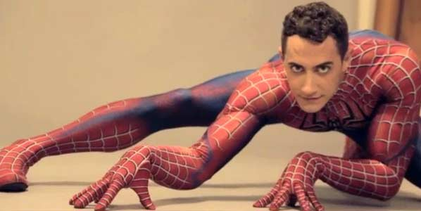 Reed Kelly has played Spiderman on Broadway