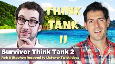 Get Your Free Bonus on the Survivor Think Tank 2 Podcast with the 49 Laws of Survivor