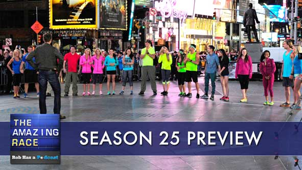 The Amazing Race 2014: Season 25 Preview and Cast Assessment