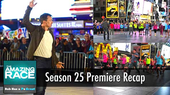 The Amazing Race 2014: LIVE Recap of the Amazing Race 25 Premiere on Friday, September 26th