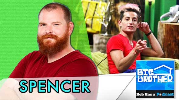 Big Brother 2014: Spencer Clawson recaps Big Brother 16 Episode 34 on Tuesday, September 9th